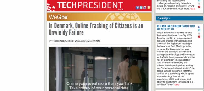 Artikel til Techpresident